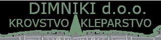 Dimniki – Krovstvo in Kleparstvo Logo